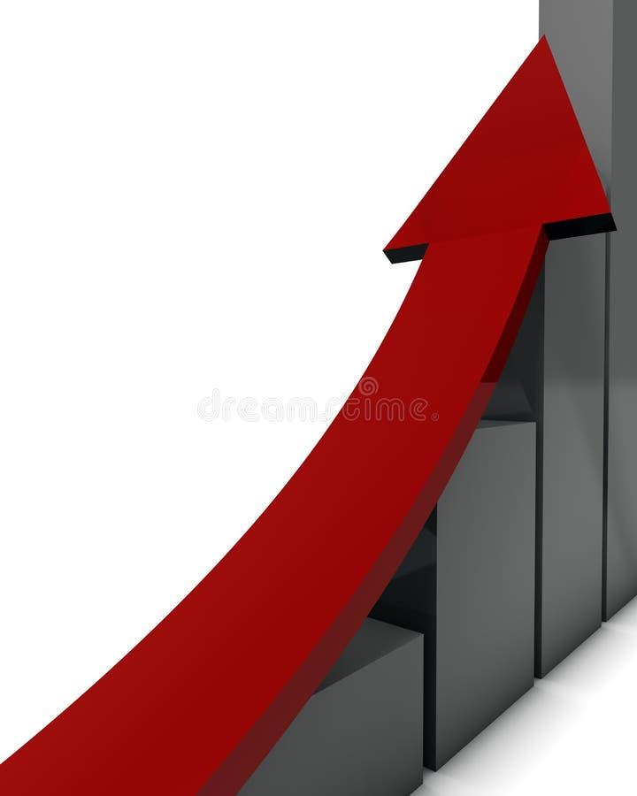 рост иллюстрация вектора
