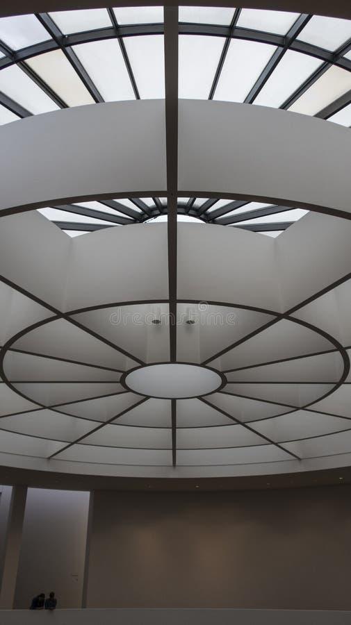 Ротонда der Moderne, Мюнхена Pinakothek музея современного искусства, Германии стоковое изображение rf