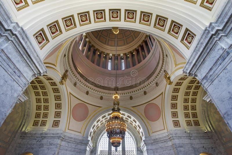 Ротонда здания капитолия штата Вашингтона стоковое фото