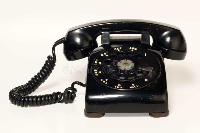 роторный телефон стоковые фото