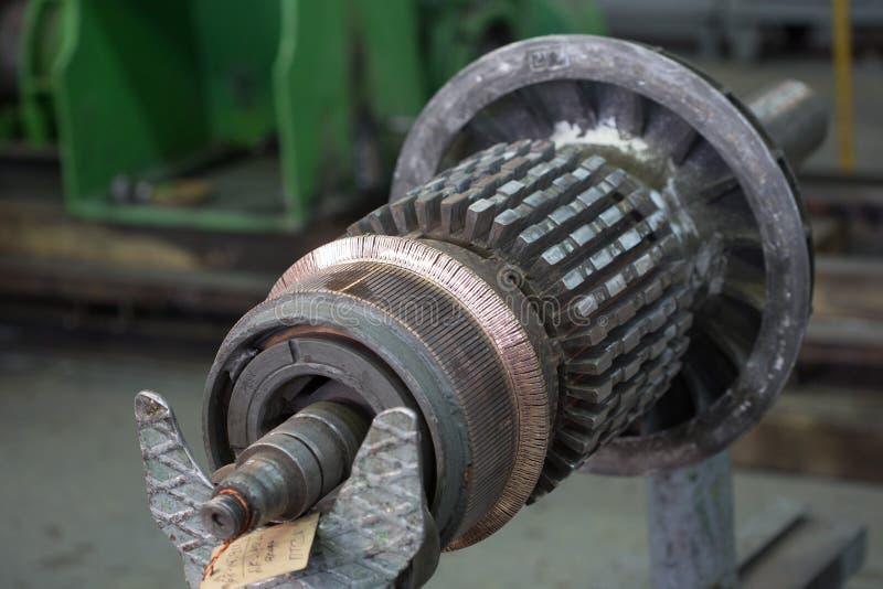 Ротор электрического двигателя запаса стоковые фото