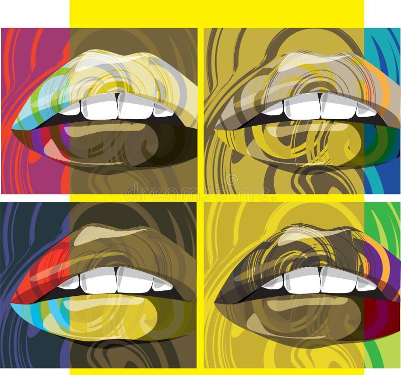 Download рот иллюстрации иллюстрация вектора. иллюстрации насчитывающей женщина - 18388865