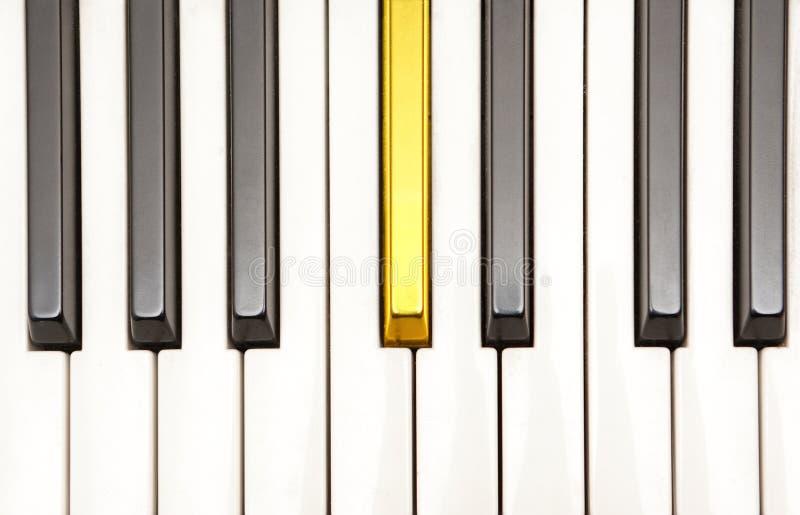 рояль золота ключевой стоковое изображение