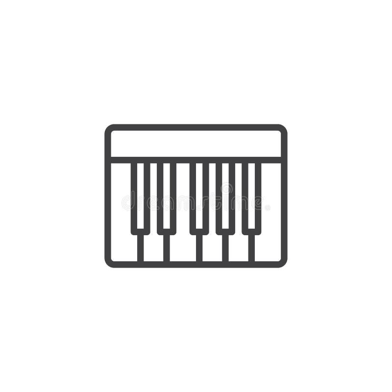 Рояль пользуется ключом значок плана бесплатная иллюстрация