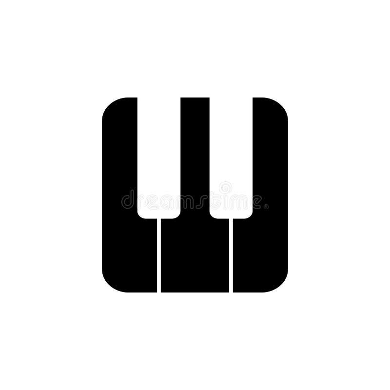 Рояль пользуется ключом значок Элемент minimalistic значка для передвижных apps концепции и сети Знаки и значок для вебсайтов, се иллюстрация штока