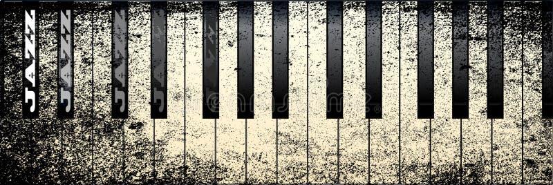 Рояль джаза бесплатная иллюстрация