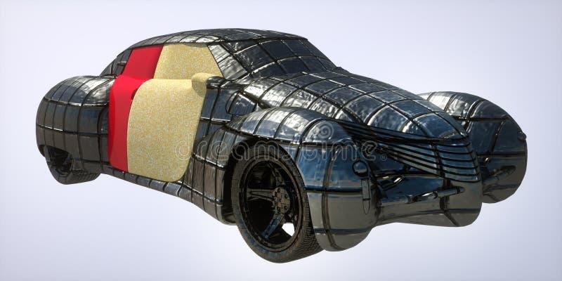 Родовая модель автомобиля иллюстрация вектора