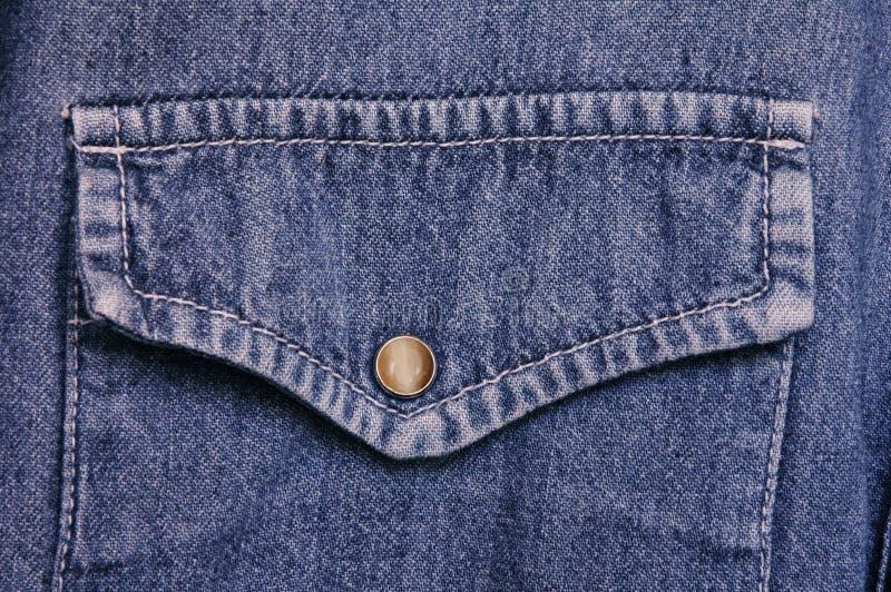 рубашка джинсовой ткани стоковое изображение
