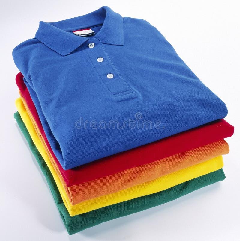 Рубашка поло стоковое изображение rf
