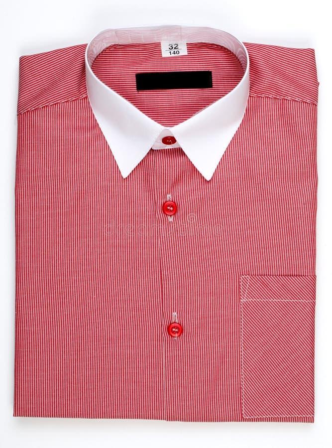 Рубашка людей, воротник стоковая фотография