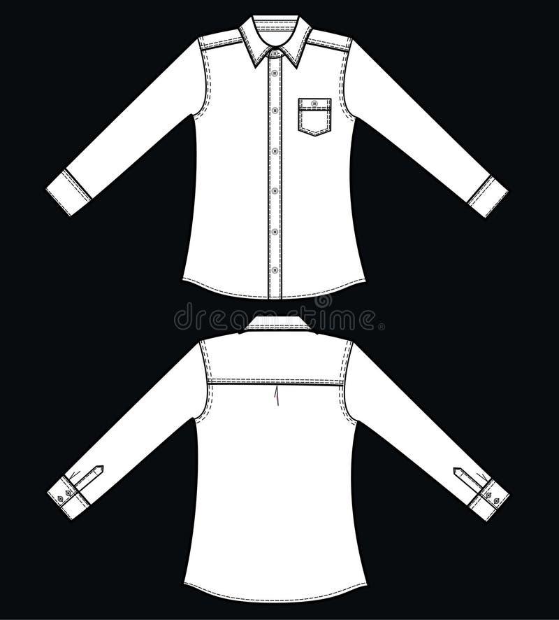 рубашка бесплатная иллюстрация
