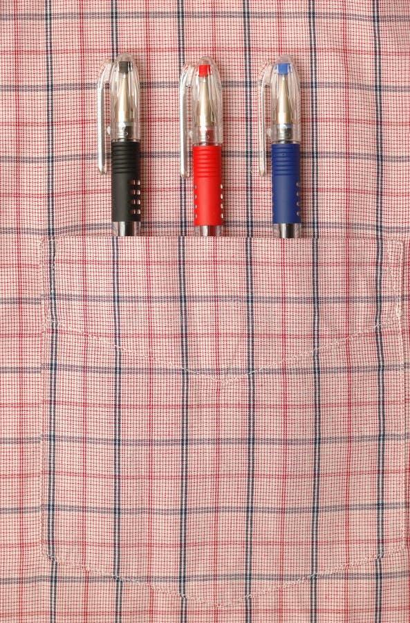 рубашка 3 перев карманная стоковая фотография rf