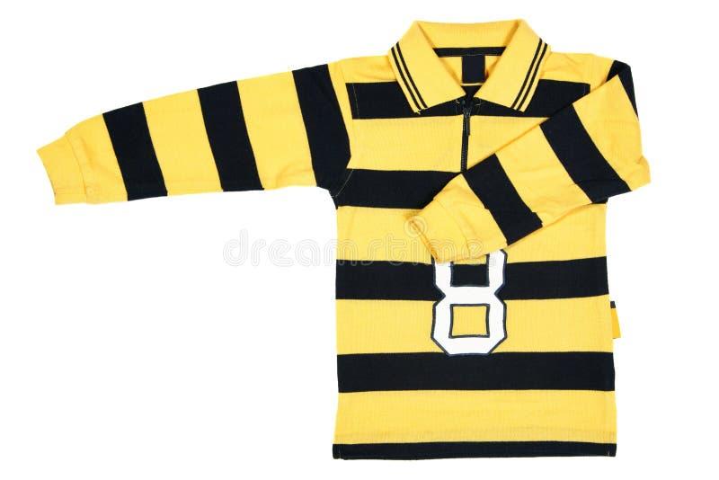 рубашка striped стоковое изображение rf