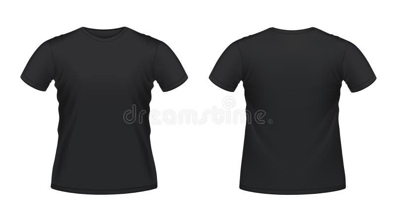 рубашка t чернокожих человек s иллюстрация штока