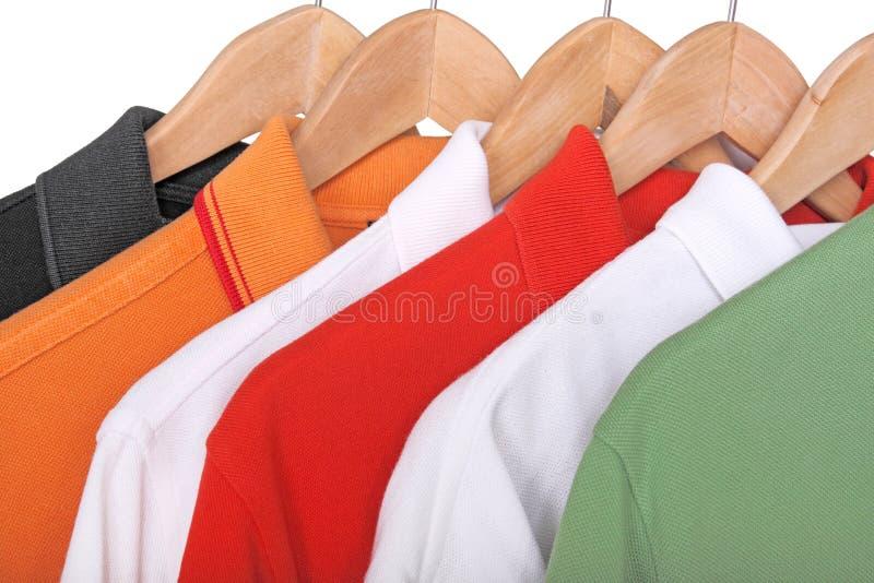 Рубашки поло стоковое фото rf