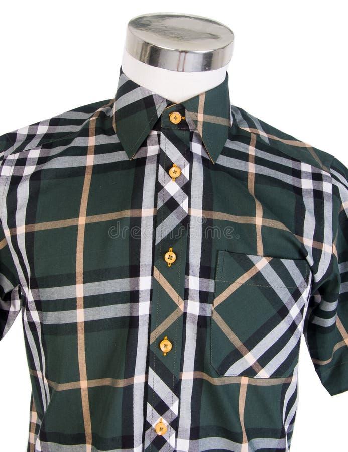 Download рубашки рубашки человека на манекене Стоковое Изображение - изображение насчитывающей тип, backhoe: 37931911