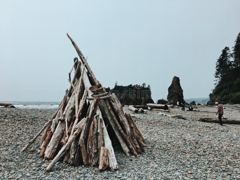 Рубиновый пляж, штат Вашингтон, США стоковая фотография rf