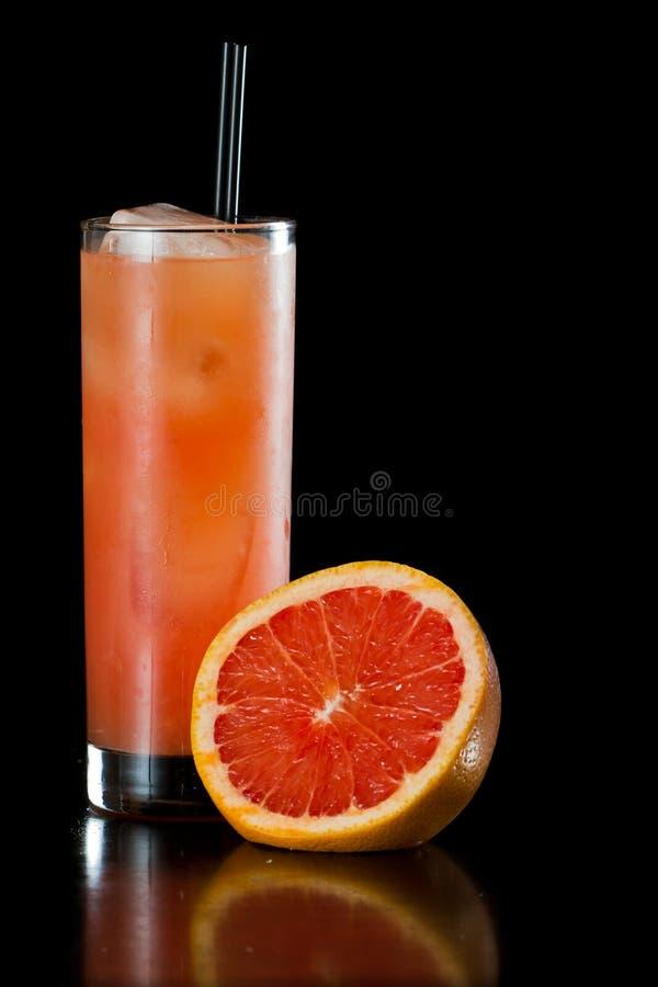 Рубиновый фруктовый сок красной виноградины стоковое фото