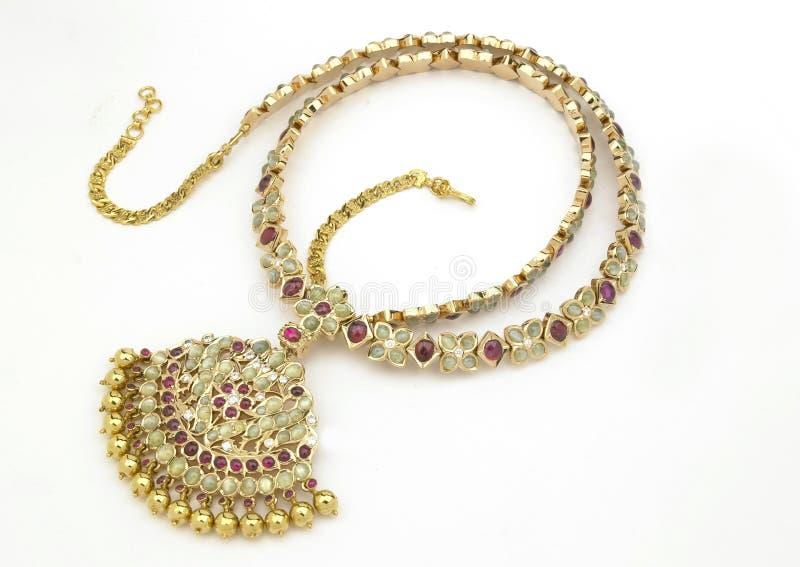 рубин ожерелья стоковые фото
