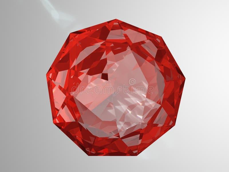 рубин иллюстрация штока