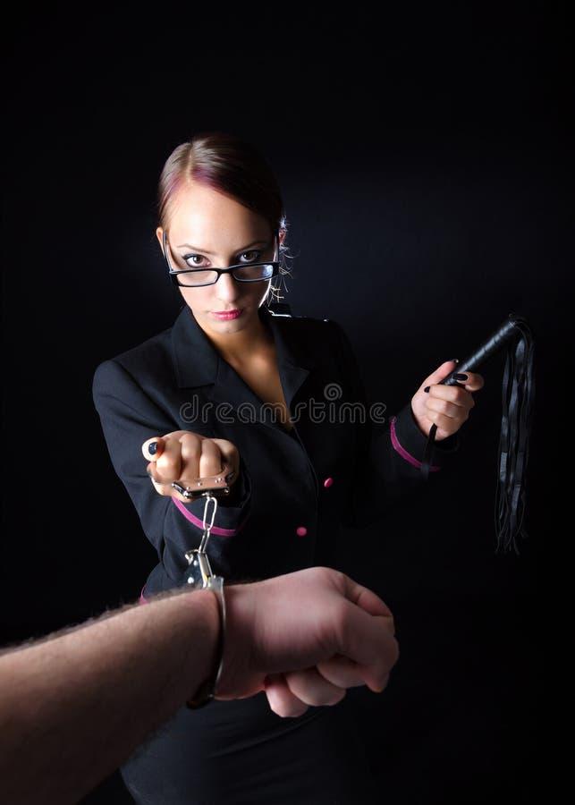 Ругательный женский босс стоковые изображения rf