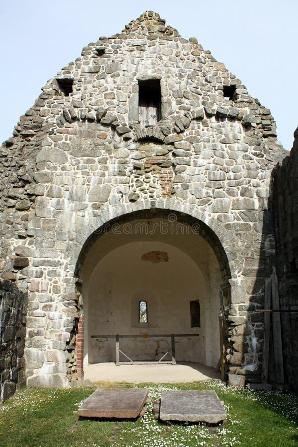 руина церков стоковые фото