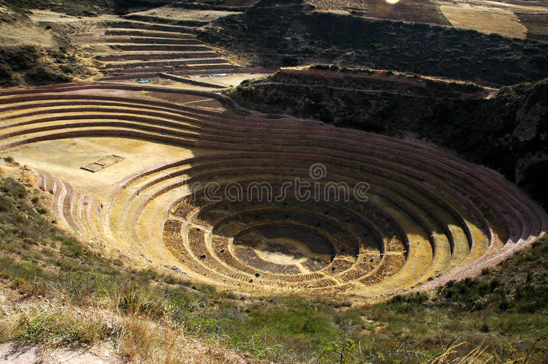 руина inca стоковая фотография rf