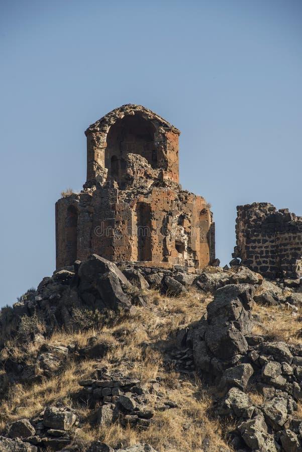 Руины ани стоковые изображения rf