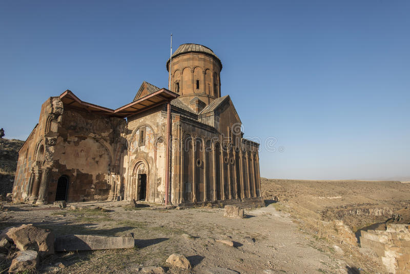 Руины ани стоковое изображение