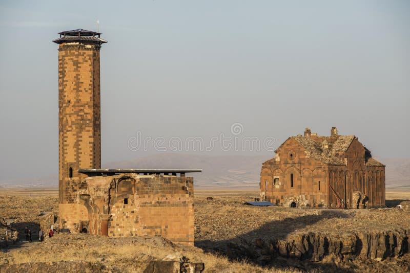 Руины ани стоковое изображение rf