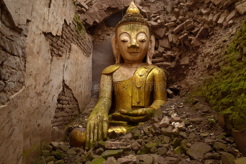 Руины Будды стоковые фотографии rf