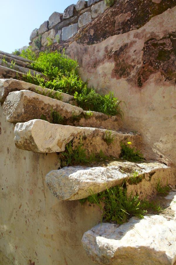 руины ванны римские стоковые фотографии rf