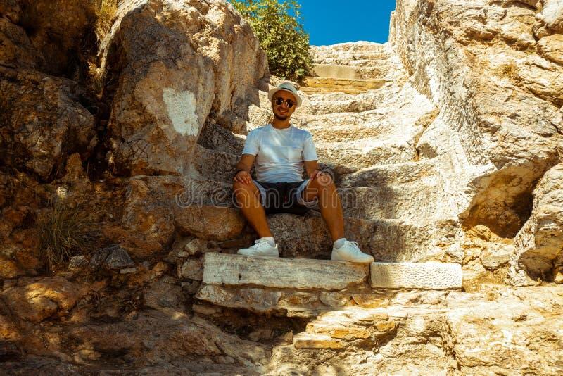 Руины древнегреческого стоковая фотография rf