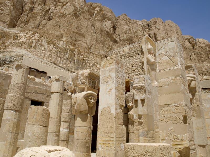 руины Египета стоковое фото