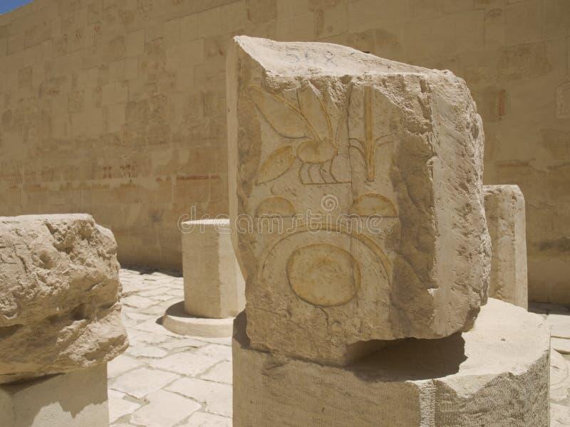 руины Египета стоковые изображения