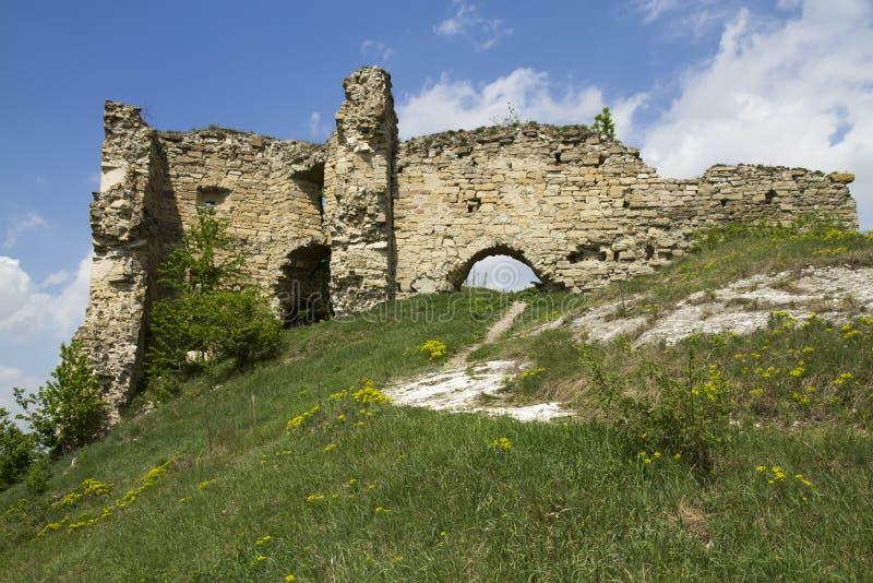 Руины замка стоковое изображение rf