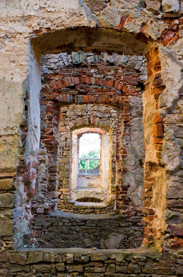 Руины замка Krzyztopor, Польши стоковое фото