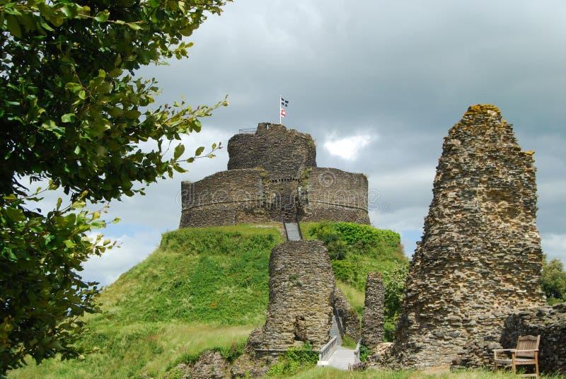 Руины замка Launceston, Корнуолла стоковое фото