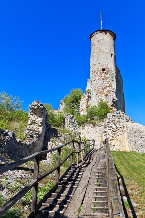 Руины замока Falkenstein, более низкая Австралия стоковые фотографии rf