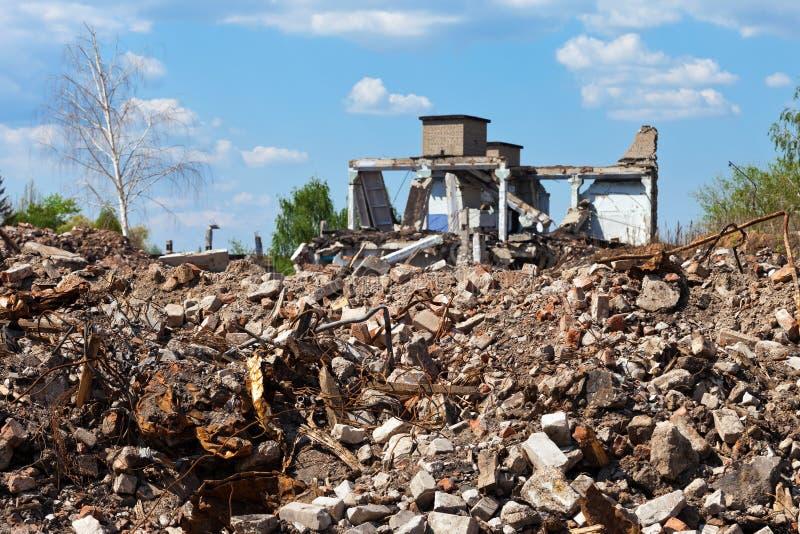 руины зданий стоковые фото