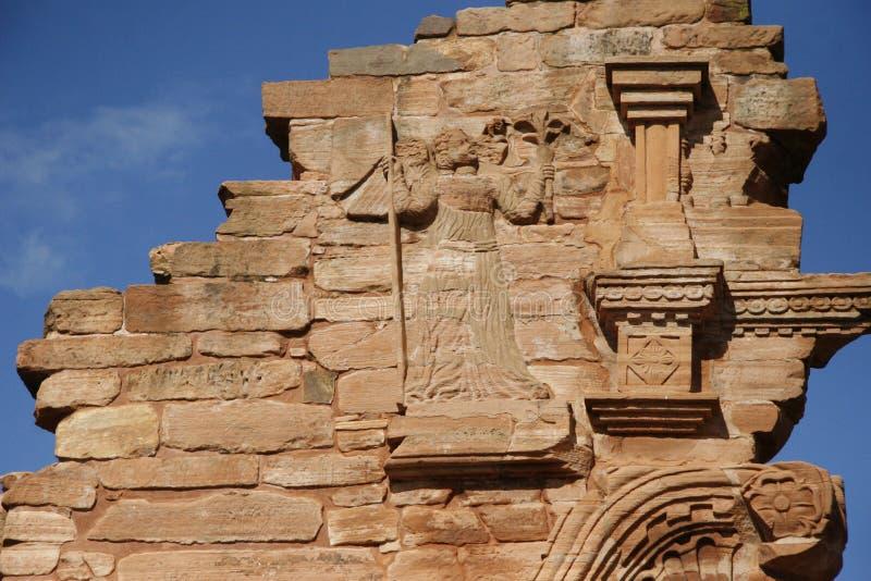 Руины иезуитов стоковое фото