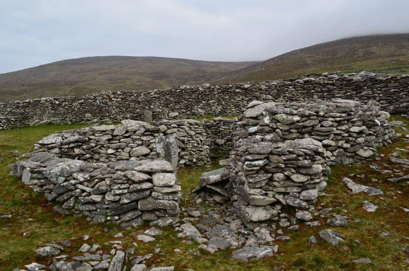 Руины камня хат улья стоковое изображение