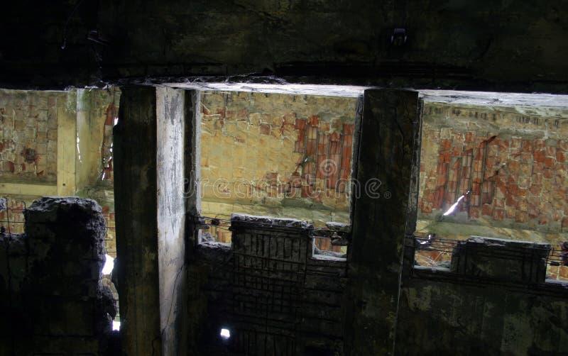 руины конспекта стоковое изображение
