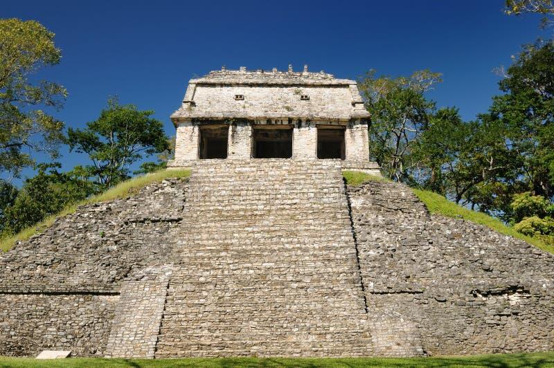 Руины Майя Palenque в Мексике стоковые фотографии rf