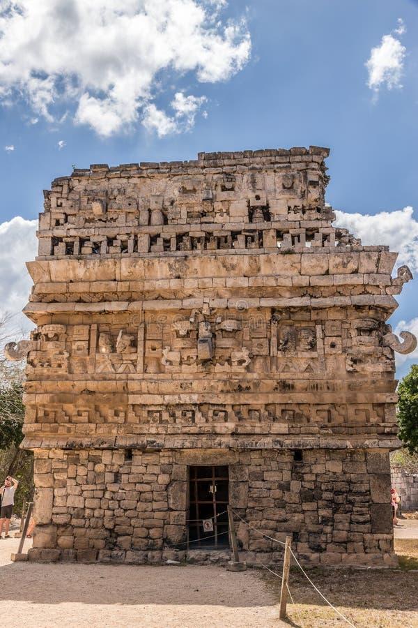 Руины на Chichen Itza стоковое фото rf