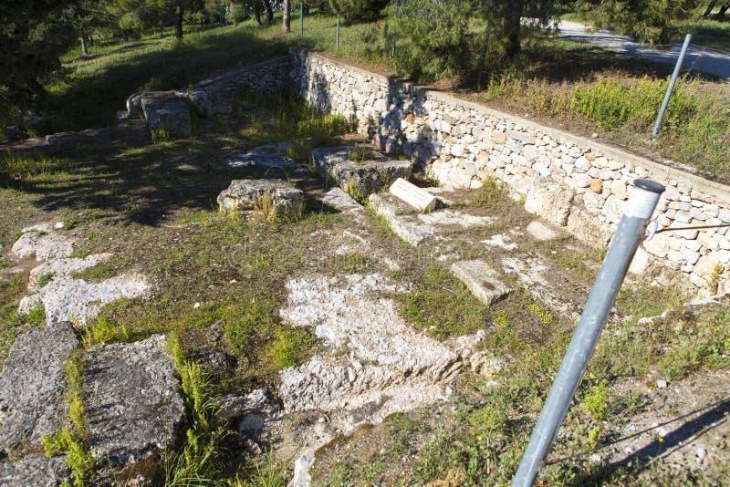 Руины от пантеона стоковые фотографии rf