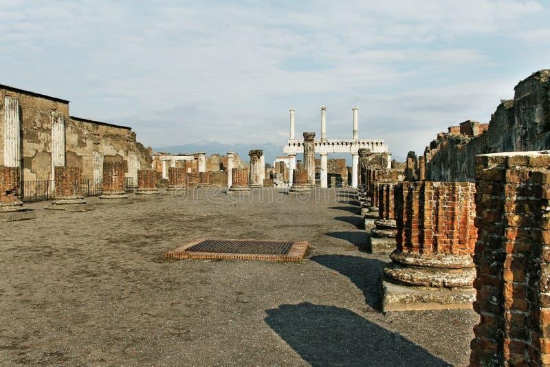 Руины Помпеи. стоковая фотография rf