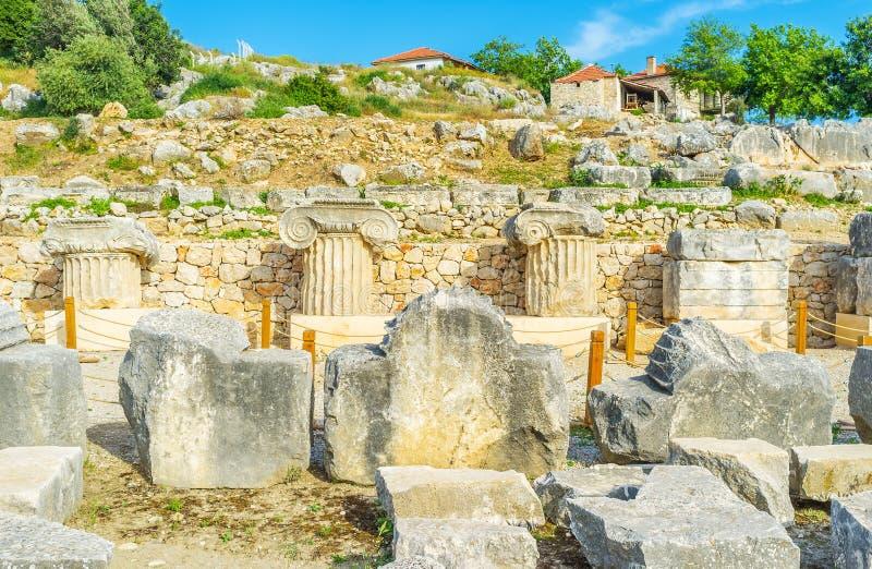 Руины святынь стоковые фото