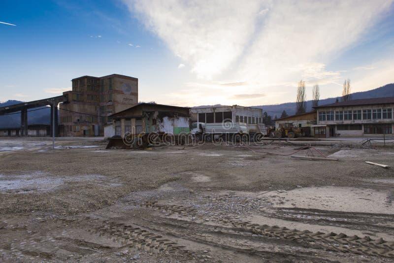 Руины соли Slanic Prahova все- стоковое изображение rf