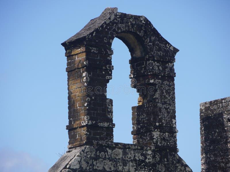Руины сражения стоковые фото